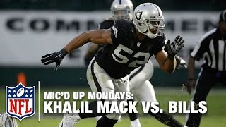 Khalil Mack Mic'd Up Leads Upset vs. Bills (Week 16, 2014) | #MicdUpMondays | NFL