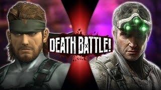getlinkyoutube.com-Solid Snake VS Sam Fisher   DEATH BATTLE!
