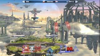 getlinkyoutube.com-Evo 2015: Smash 4 Grand Final - Zero vs LLL Mr R