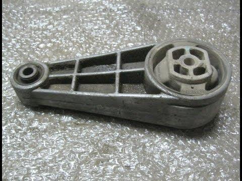 Замена нижней опоры  двигателя Chevrolet Lacetti 1,8 sed