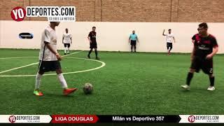 Milan vs. Deportivo 357 Liga Douglas en Chicago Illinois