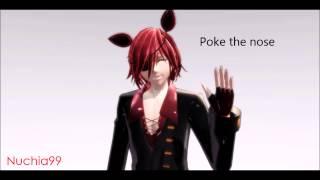 getlinkyoutube.com-[MMD x FNAF] How to Poke Foxy