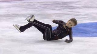 getlinkyoutube.com-Юлия Липницкая Травма ноги на Кубке Ростелеком 2016