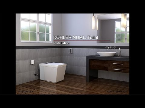 Kohler Numi Toilet - Installation Instructions - Bathroom Products