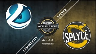 Splyce vs. Luminosity | CWL Pro League | Division B | Stage 1
