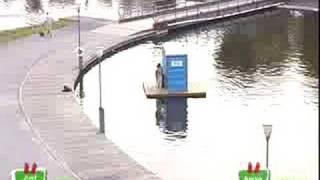Toilette Flottante - Gags Juste pour rire