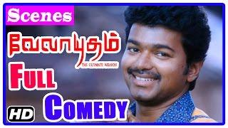 Velayudham Tamil Movie | Full Comedy | Scenes | Vijay | Santhanam | Soori