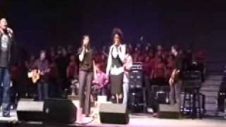 "getlinkyoutube.com-""Sing To The King"" Anthony Evans and Priscilla Shirer at Redemption 09 0002"