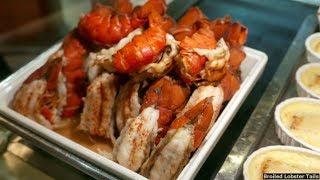 getlinkyoutube.com-Princess Cruises Dinner Buffet Food 2016 140+ Items (HD)