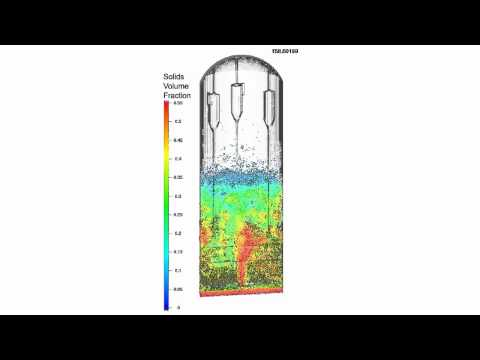 CFD Simulation in CPFD Barracuda of a Fluidized Bed Gasifier
