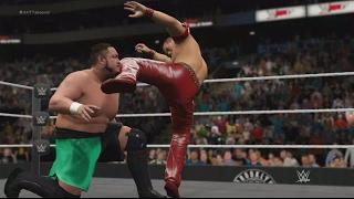 WWE 2K17 DLC Finishers