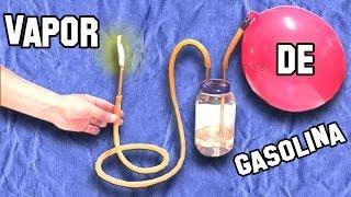 getlinkyoutube.com-Cómo Hacer un Soplete de Gasolina - Experimentos Caseros - LlegaExperimentos