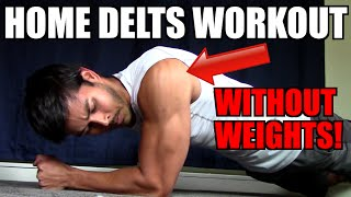 getlinkyoutube.com-HOME SHOULDER WORKOUT WITH NO WEIGHTS! | HOW TO BUILD BIG DELTS WITH NO EQUIPMENT!