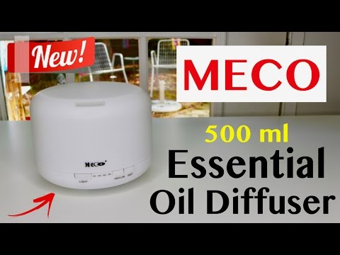 😍 MECO Essential Oil Diffuser 500ml - Review ✅