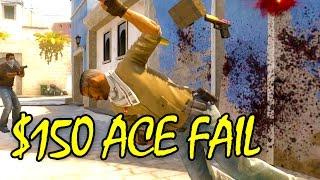getlinkyoutube.com-$150 ACE FAIL - CS GO Competitive