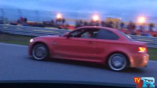 getlinkyoutube.com-BMW 1M JB-4 Stage 3  VS C63 AMG (Chip tuned, K&N Filters, Downpipes)