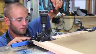 getlinkyoutube.com-How to Easily Drill Hinge Cups in Cabinet Doors | Glass Impressions