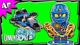 getlinkyoutube.com-Lego Dimensions JAY Ninjago Fun Pack 3-in-1 Build Review 71215