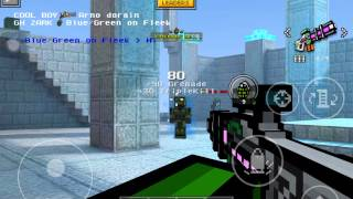 getlinkyoutube.com-NO ARMOUR Level 26 Gameplay - Pixel Gun 3D