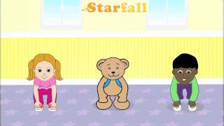 getlinkyoutube.com-Head, Shoulders, Knees and Toes: Starfall Movement Song and Animation