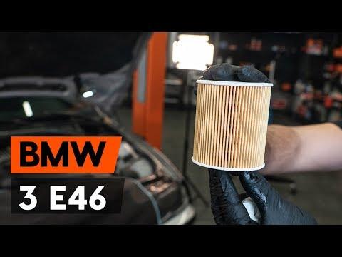 Как заменить моторное масло и масляный фильтр на BMW 3 (E46) (ВИДЕОУРОК AUTODOC)