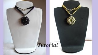 getlinkyoutube.com-Tutorial Expositor Reversible para Collares en Goma Eva
