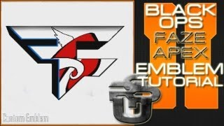 getlinkyoutube.com-Faze Apex Logo : Call of Duty Black Ops 2 Emblem Tutorial