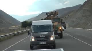 Afrin'den dönen özel harekatçılar Erzincan'da sevinç gözyaşlarıyla karşılandı
