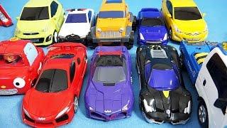 getlinkyoutube.com-Tobot, Gyrozetter, Hello carbot, Pororo car toys 헬로카봇 또봇 자이로제타 뽀로로 카 장난감