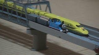 getlinkyoutube.com-(鉄道模型)きかんしゃトーマスが本気を出したようです。その2