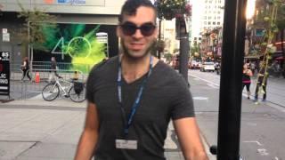 getlinkyoutube.com-Promo voeren in Toronto met Adil El Arbi
