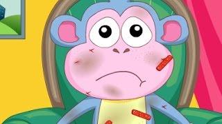 getlinkyoutube.com-كرتون دورا وموزو ( القرد موزو المريض ) العاب كرتون للاطفال كاملة 2015