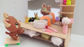 How to make a LPS Bathroom Vanity & accessories