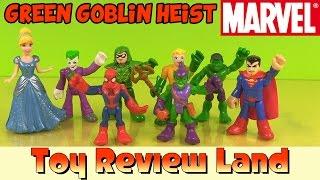 "getlinkyoutube.com-Spiderman in ""The Green Goblin Heist"" With Cinderella, Superman, The Joker, The Hulk, & Aquaman!"