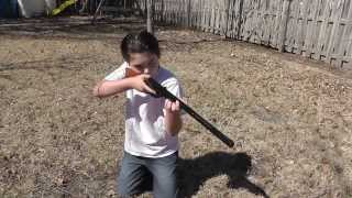 getlinkyoutube.com-Riley - Daisy BB gun