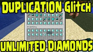 getlinkyoutube.com-Minecraft PS3, PS4, Xbox One, Wii U - DUPLICATION UNLIMITED DIAMONDS GLITCH! Title Update TU25/TU26