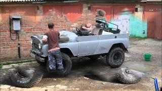 getlinkyoutube.com-Переделка УАЗ 469