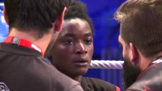 getlinkyoutube.com-FIGHT4GLORY IV 03.10.2015 (Aline Seiberth vs Sara Safalani)