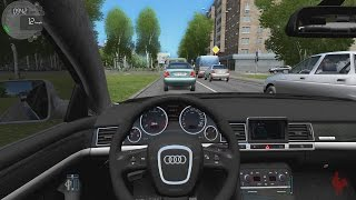 getlinkyoutube.com-City Car Driving - Audi S8