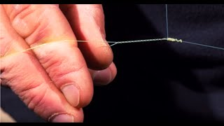 getlinkyoutube.com-Learn How To Tie A Bimini Twist-Close Ups, Easy to Follow-Saltwater Experience