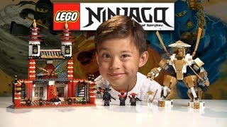 getlinkyoutube.com-TEMPLE OF LIGHT - LEGO NINJAGO Set 70505 - Time-lapse Build, Unboxing & Review GOLDEN NINJA POWER!