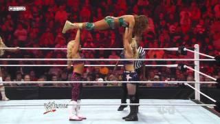 getlinkyoutube.com-WWE RAW 0916/11 | Beth Phoenix & Natalya vs. Eve & Kelly Kelly