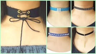 10 DIY Chokers | Easy and Cheap