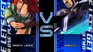 getlinkyoutube.com-暴走雷欧娜 vs 暴风。Orochi Leona vs Goenitz(Mugen)