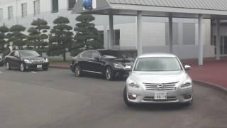 getlinkyoutube.com-警察庁長官警護車列 茨城県警警護隊の警護風景!
