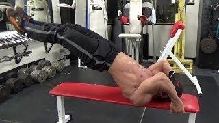 getlinkyoutube.com-【筋トレ】ドラゴンフラッグの解説 腹筋に効くやり方のポイント