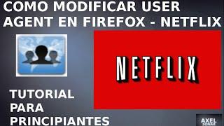 getlinkyoutube.com-Como modificar User Agent en Firefox - Netflix (Ubuntu 14.04) - Tutorial para principiantes