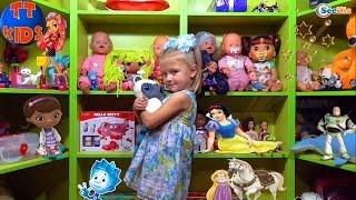 ✔Baby Born Nenuco Alive Barbie / Ярослава и новый шкаф для игрушек / Video for kids/ Toys for kids
