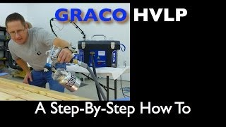getlinkyoutube.com-Graco Finish Pro HVLP 9.5 How To Spray