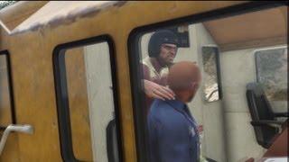 getlinkyoutube.com-GTA V: Train Hijacking